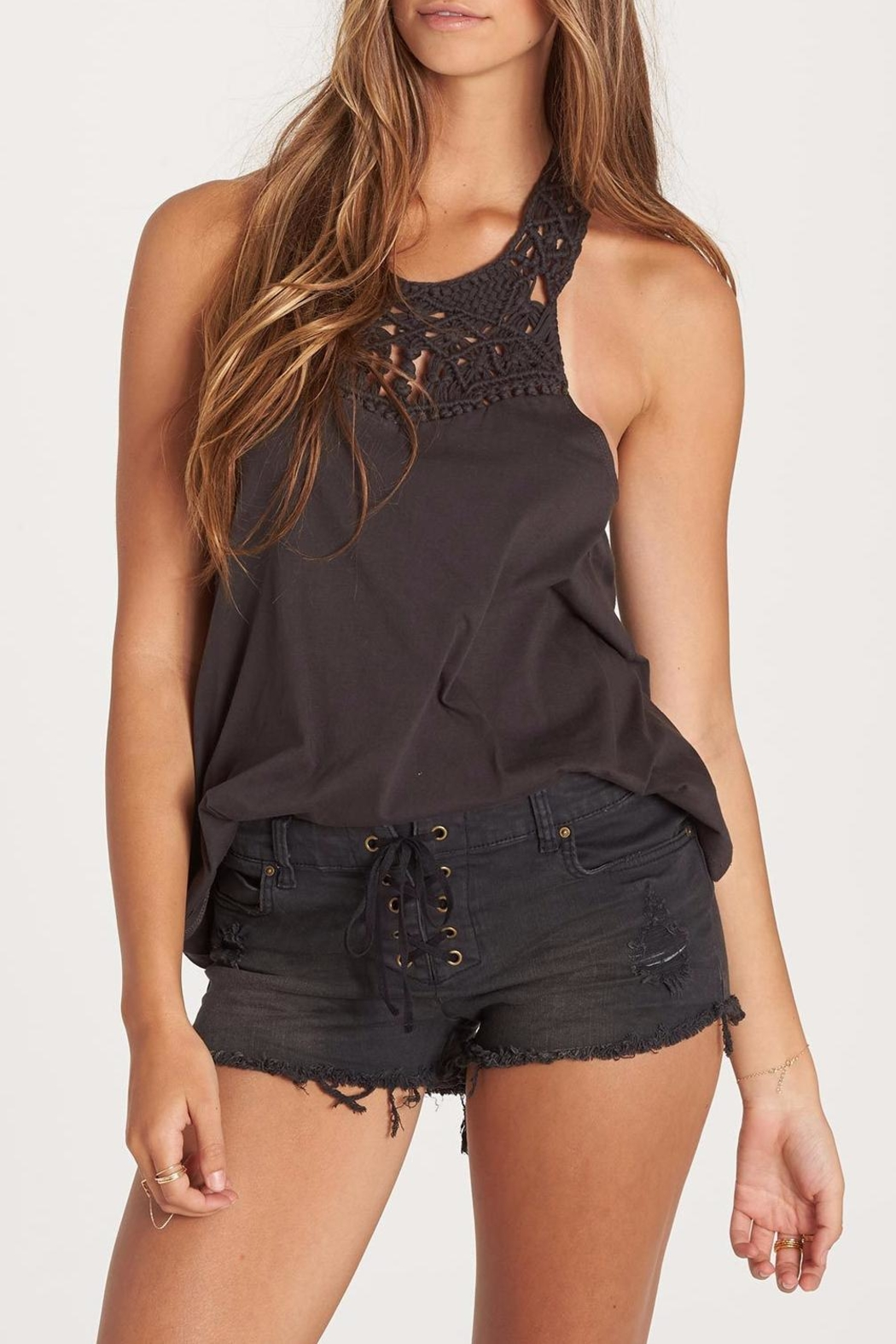 Billabong Setting Stage Top - Front Cropped Image