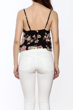 Shoptiques Product: Side By Side Floral Cropped Cami