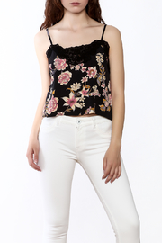 Billabong Side By Side Floral Cropped Cami - Product Mini Image