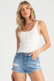 Billabong Simple Floral Tank - Front full body