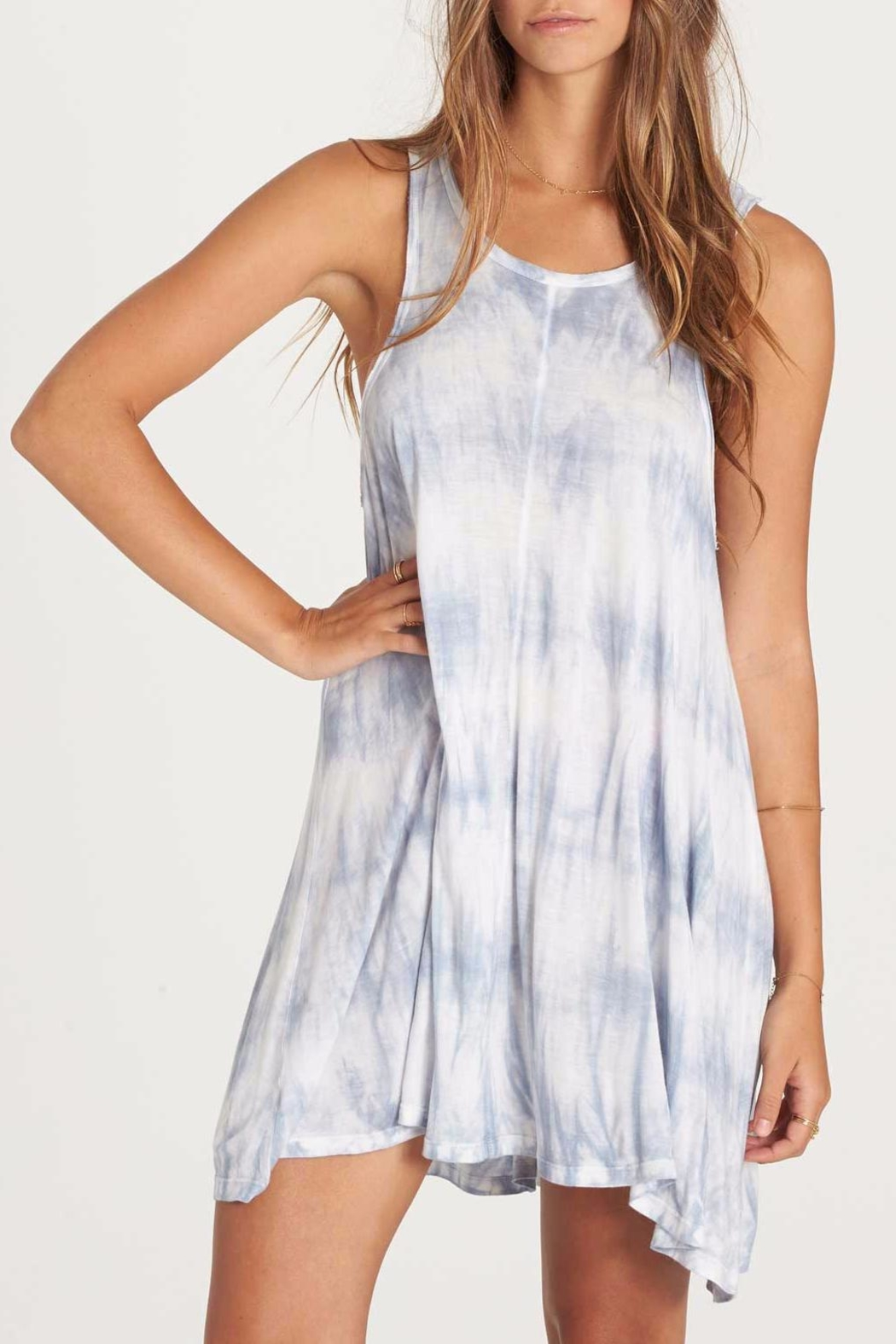 Billabong Tie Dye Dress - Front Cropped Image