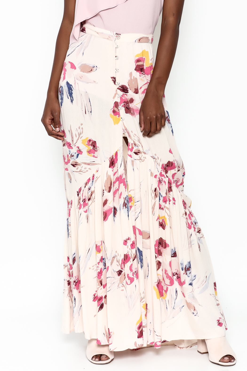 Billabong Star Lit Maxi Skirt - Front Cropped Image