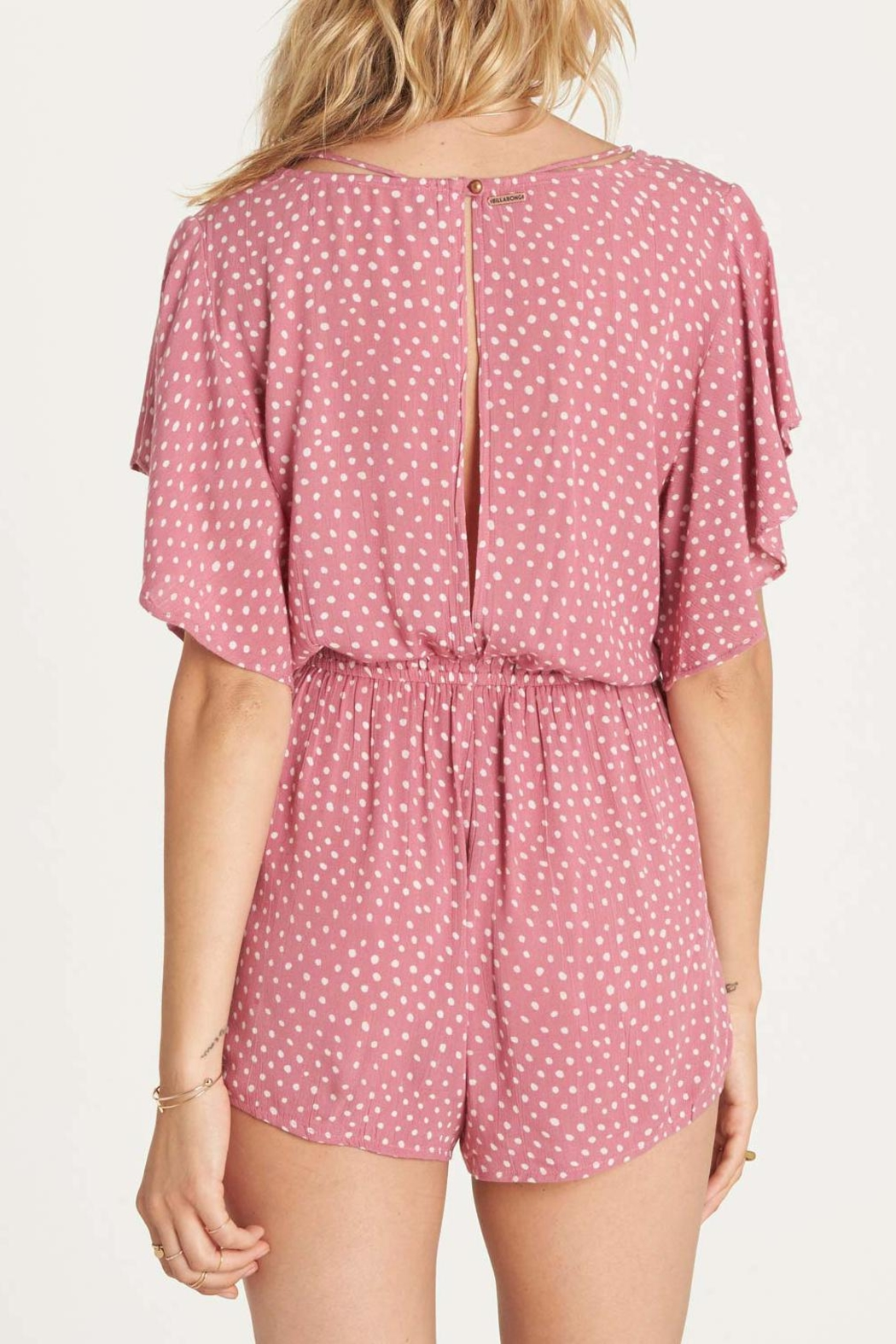 Billabong Strap Up Romper - Side Cropped Image