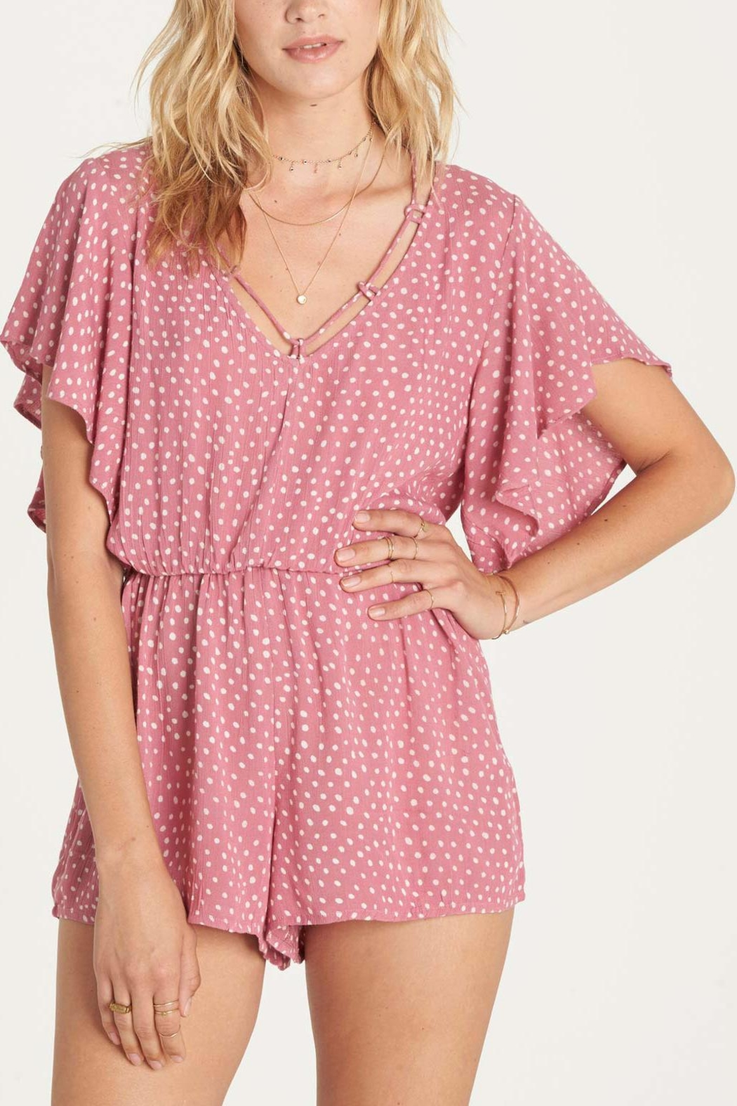 Billabong Strap Up Romper - Main Image