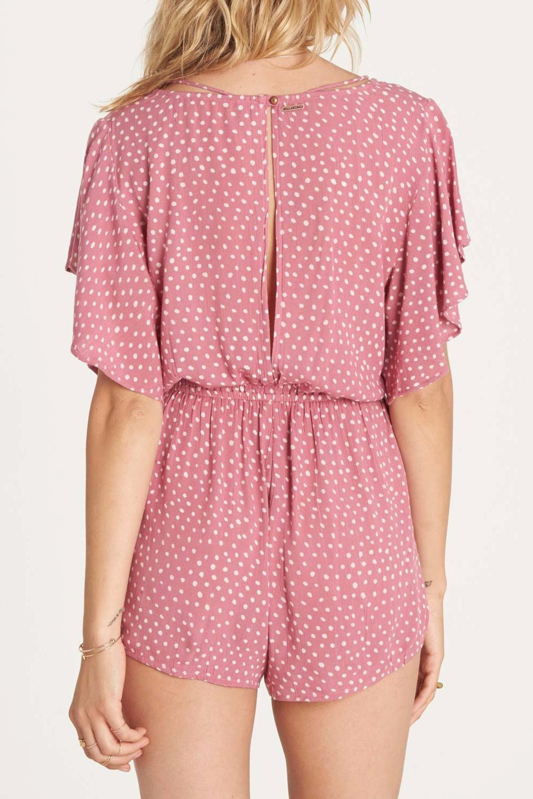 Billabong Strap Up Romper - Front Full Image