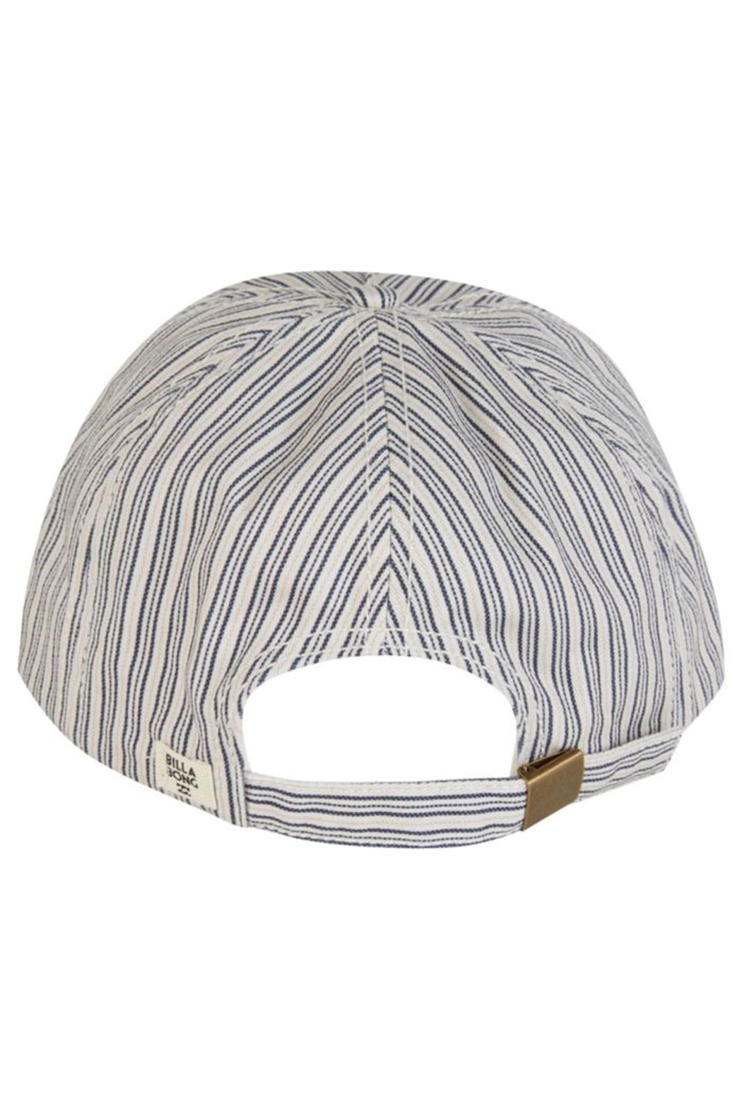 Billabong Striped Distressed Cap - Back Cropped Image