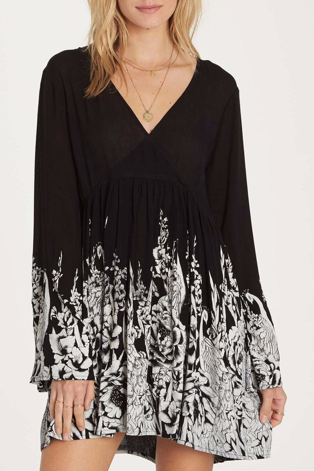 Billabong Take Today Dress - Front Cropped Image
