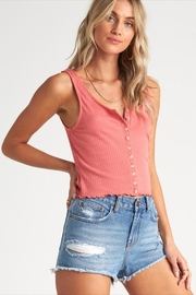 Billabong Textured Coral Tank - Front full body