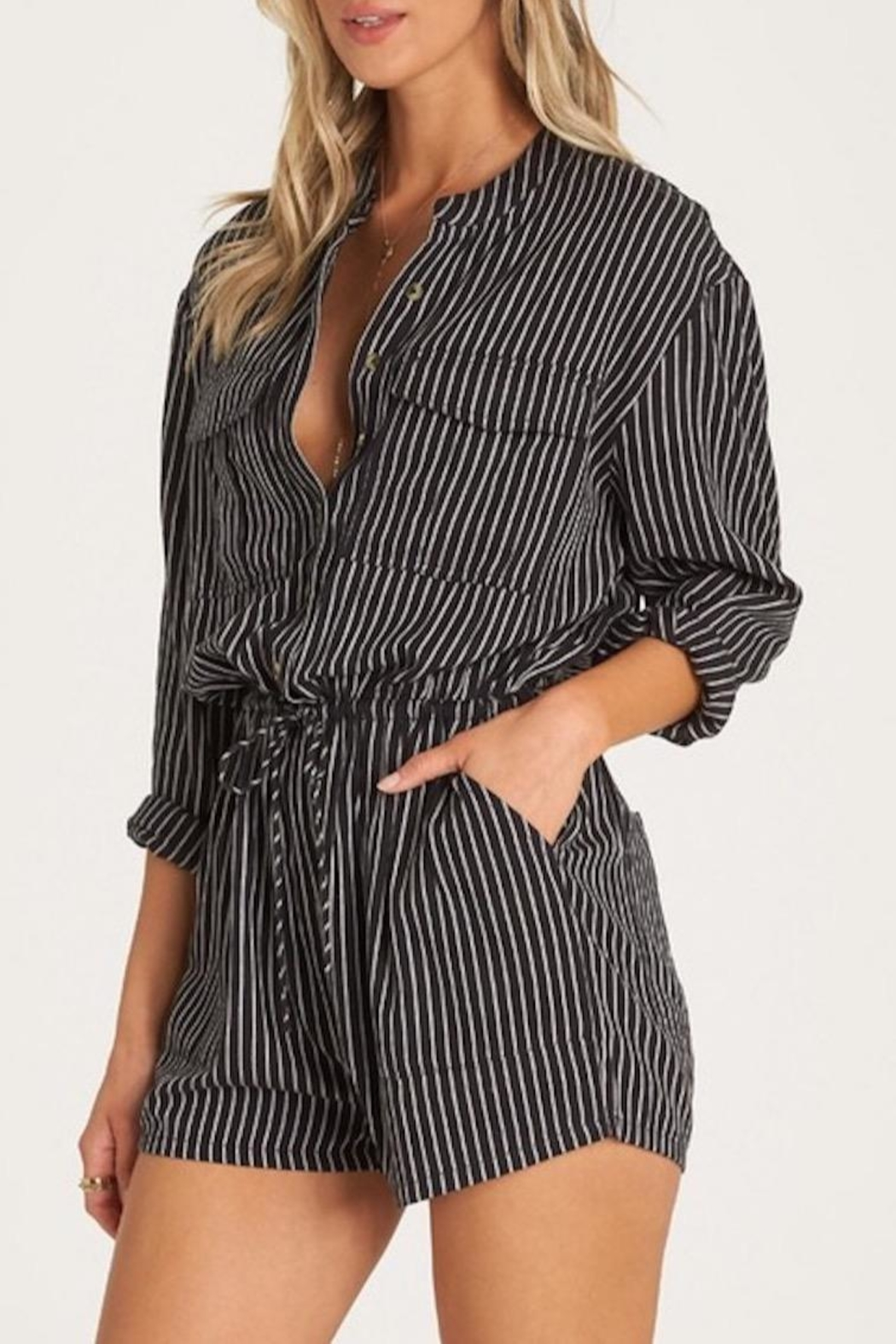 Billabong Wake Night Romper - Front Full Image
