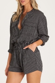Billabong Wake Night Romper - Front full body