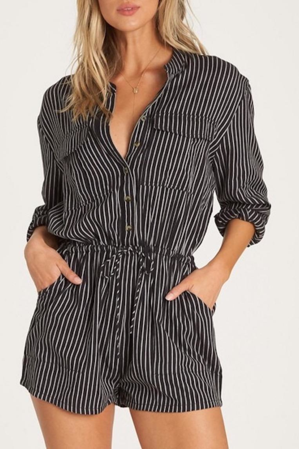 Billabong Wake Night Romper - Main Image