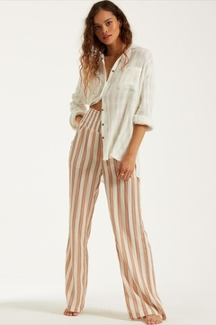 Billabong Woven Striped Pants - Product List Image