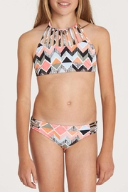 Billabong Zigginz High-Neck Bikini - Front cropped