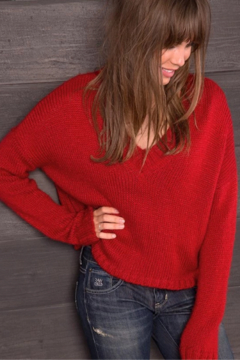 Wooden Ships Billie Cropped Sweater - Product List Image