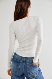 Free People  Billie Layering Top - Front full body