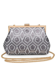 Urban Expressions Billie Sequin Clutch - Product Mini Image