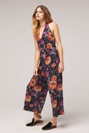 Band Of Gypsies Billy Floral Jumpsuit - Front full body