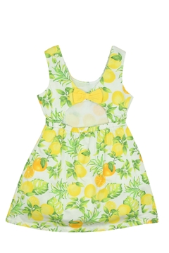 Bimbalina Lemon Open Back Dress - Alternate List Image