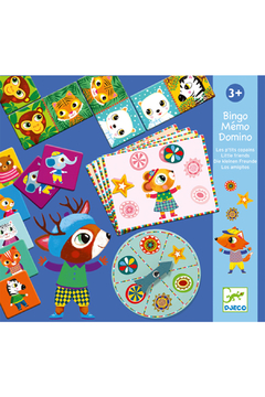 Djeco Bingo Memo Domino Little Friends - Product List Image