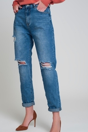 Bio Baggy Mom Jean - Front cropped
