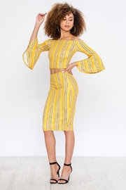 Bio Bell Sleeve Top - Back cropped