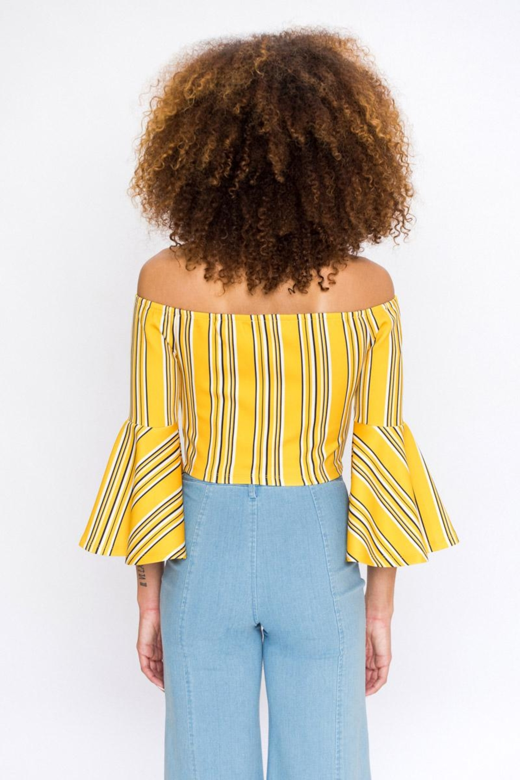 Bio Bell Sleeve Top - Front Full Image