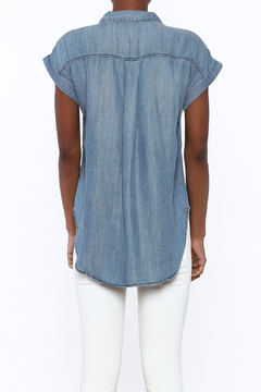 Shoptiques Product: Chambray Short Sleeve Top