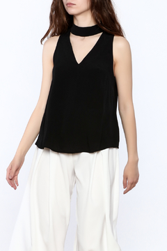 Shoptiques Product: Black Sleeveless Blouse
