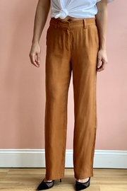 Bio Coral Trousers - Front cropped