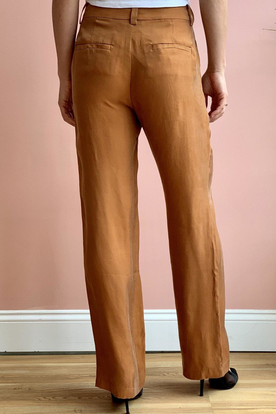 Bio Coral Trousers - Front Full Image