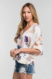 Bio Cross Front Blouse - Front full body