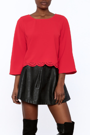 Shoptiques Product: Deep Red Blouse