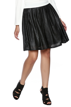Bio Faux Leather Flair Skirt - Product List Image