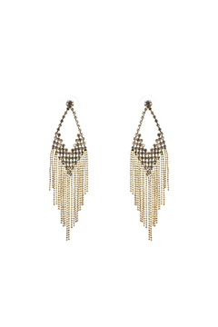 Shoptiques Product: Gold Chandelier Earrings