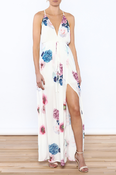 Shoptiques Product: Floral Chiffon Maxi Dress