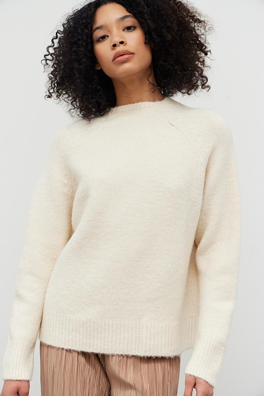 Bio Ivory Sweater - Front Cropped Image