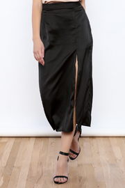 Bio Midi Satin Skirt - Product Mini Image