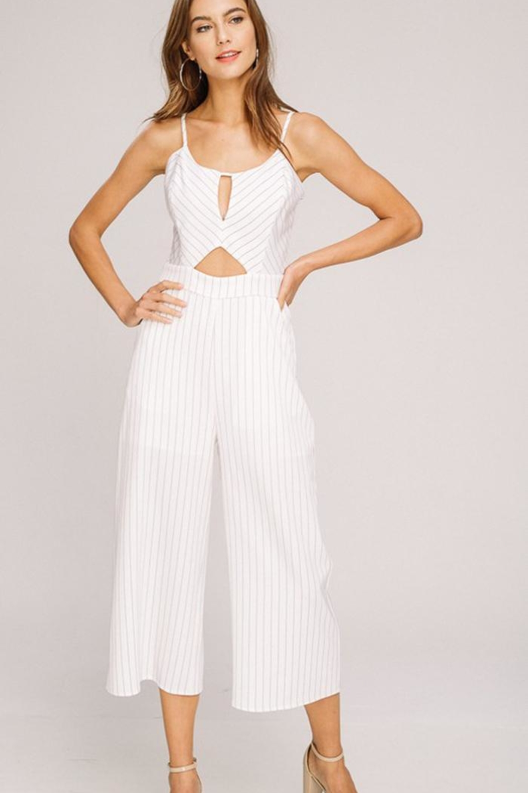 c117f741bd6b Bio Open Front Jumpsuit from Brooklyn by BB Collective — Shoptiques