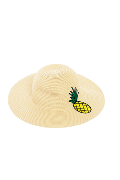 Shoptiques Product: Pineapple Straw Hat