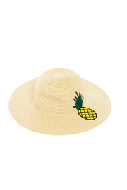 Bio Pineapple Straw Hat - Product Mini Image