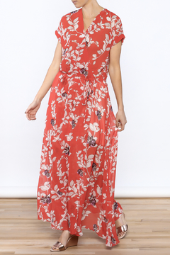 Shoptiques Product: Red Floral Maxi Dress