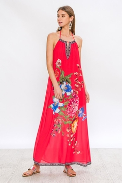 Bio Red Halter Maxi - Product List Image