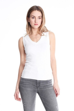 Shoptiques Product: Ribbed Vneck Tank