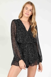 Bio Speckled Romper - Front cropped