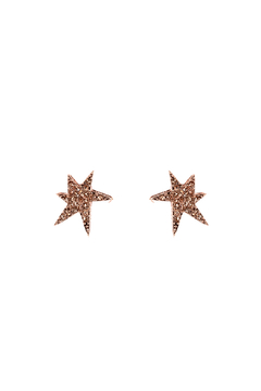 Shoptiques Product: Starfish Rhinestone Earrings