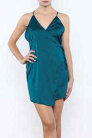 Shoptiques Product: Wrap Satin Dress
