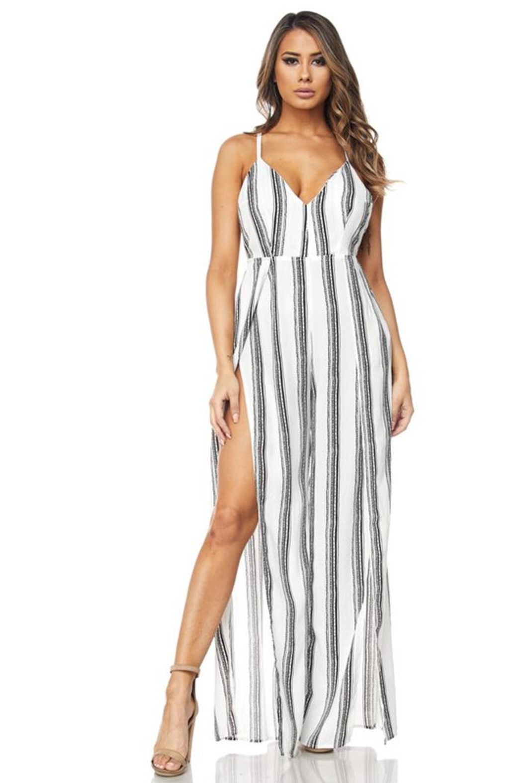 c33e0711cc6a Bio Stripe Jumpsuit from Brooklyn by BB Collective — Shoptiques