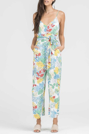 Bio Tie Front Jumpsuit - Product Mini Image