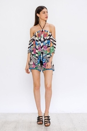 Bio Tropical Halter Blouse - Front cropped