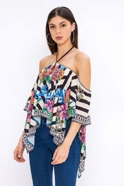 Bio Tropical Halter Blouse - Side cropped